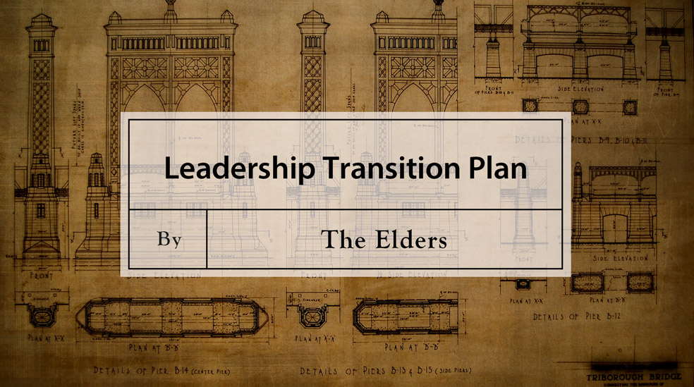 Leadership Transition Plan